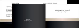 exemple depliant 2 volets  4 pages  texture contexture structure MLGI44239
