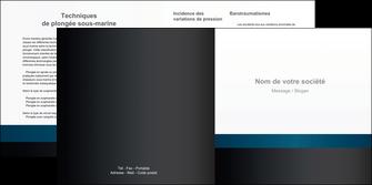 maquette en ligne a personnaliser depliant 2 volets  4 pages  texture structure design MLGI44277