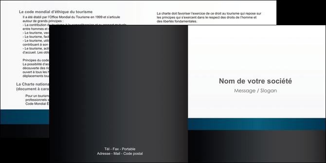faire modele a imprimer depliant 2 volets  4 pages  texture structure design MLGI44287