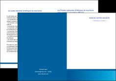 faire modele a imprimer depliant 2 volets  4 pages  texture structure design MIF44501