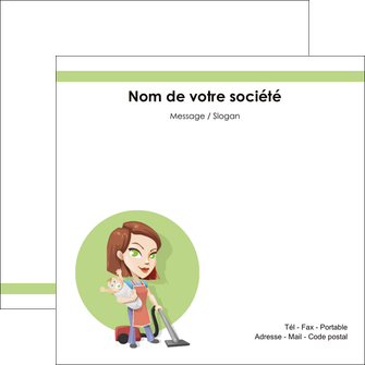 Creer Modele En Ligne Flyers Agence De Placement Femme Menage Employe Maison Nenene MLGI44551