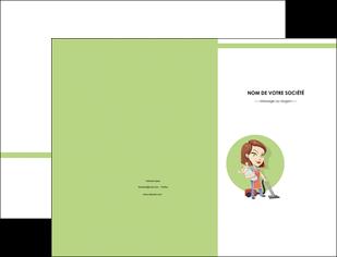 faire modele a imprimer pochette a rabat agence de placement  femme de menage employe de maison nenene MLGI44571