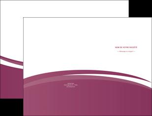 faire modele a imprimer pochette a rabat texture structure design MLIG44625
