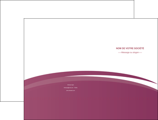 imprimer pochette a rabat texture structure design MLIG44627