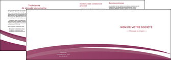 realiser depliant 2 volets  4 pages  texture structure design MLIG44629