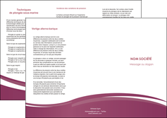 faire modele a imprimer depliant 3 volets  6 pages  texture structure design MLGI44645