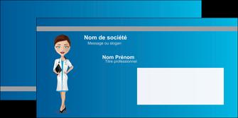 impression enveloppe infirmier infirmiere medecin docteur infirmier MLGI44801