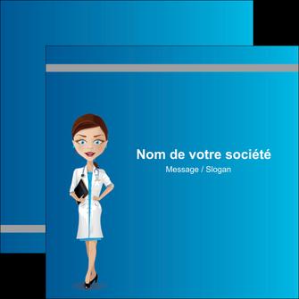 creation graphique en ligne flyers infirmier infirmiere medecin docteur infirmier MIS44805