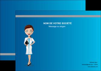 imprimerie affiche infirmier infirmiere medecin docteur infirmier MIS44819