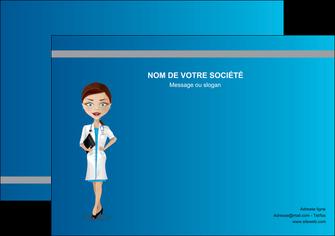 personnaliser maquette affiche infirmier infirmiere medecin docteur infirmier MLGI44821