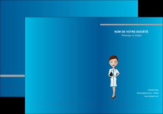 modele en ligne pochette a rabat infirmier infirmiere medecin docteur infirmier MIS44827