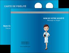 personnaliser maquette carte de visite infirmier infirmiere medecin docteur infirmier MIS44831