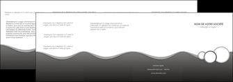 exemple depliant 4 volets  8 pages  texture contexture structure MLIG44915