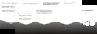 imprimer depliant 4 volets  8 pages  texture contexture structure MLIG44917