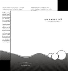 imprimer depliant 2 volets  4 pages  texture contexture structure MLGI44921