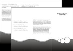 exemple depliant 3 volets  6 pages  texture contexture structure MLGI44927