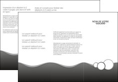 exemple depliant 3 volets  6 pages  texture contexture structure MLIG44927