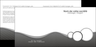 personnaliser maquette depliant 2 volets  4 pages  texture contexture structure MLGI44933