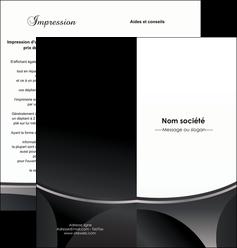 impression depliant 2 volets  4 pages  texture structure design MLIG44945