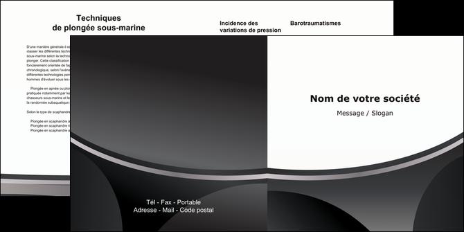realiser depliant 2 volets  4 pages  texture structure design MLGI44951