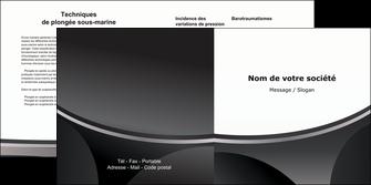 realiser depliant 2 volets  4 pages  texture structure design MLIG44951