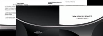 modele depliant 2 volets  4 pages  texture structure design MIF44971