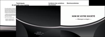 creation graphique en ligne depliant 2 volets  4 pages  texture structure design MLIG44973