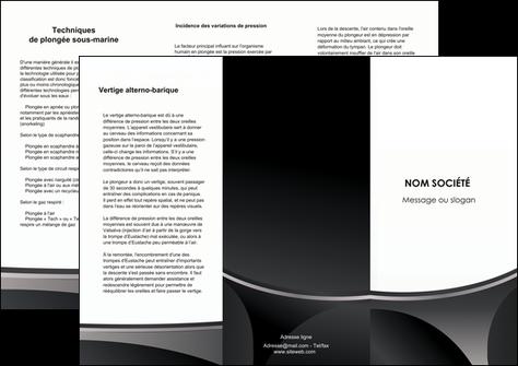 faire modele a imprimer depliant 3 volets  6 pages  texture structure design MLGI44987