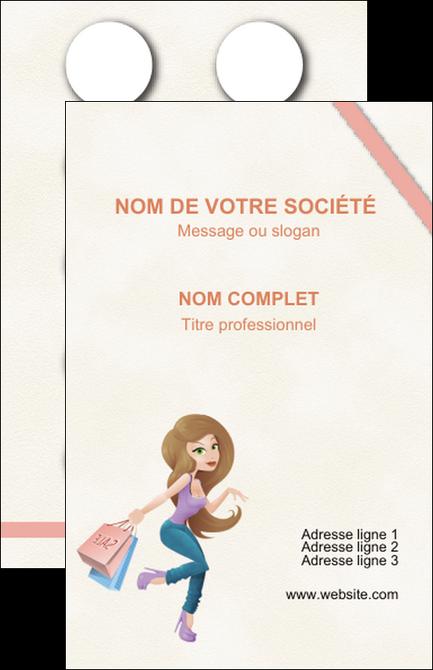 Personnaliser Maquette Carte De Visite Vetements Et Accessoires Shopping Magasin Boutique MLGI45029