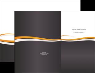 imprimer pochette a rabat standard design abstrait MLGI45117