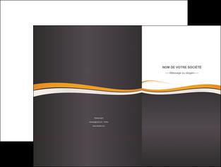 imprimer pochette a rabat standard design abstrait MLGI45119