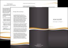 faire modele a imprimer depliant 3 volets  6 pages  standard design abstrait MIF45137