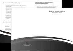 imprimer depliant 2 volets  4 pages  standard design abstrait MLIG45141