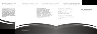 imprimerie depliant 4 volets  8 pages  standard design abstrait MLIG45153