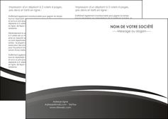 maquette en ligne a personnaliser depliant 2 volets  4 pages  standard design abstrait MLGI45155