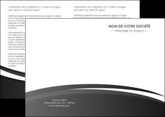 maquette en ligne a personnaliser depliant 2 volets  4 pages  standard design abstrait MLIG45155
