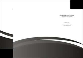 faire modele a imprimer pochette a rabat standard design abstrait MIF45173