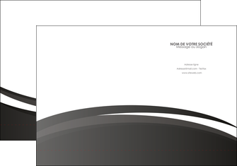faire modele a imprimer pochette a rabat standard design abstrait MLIG45173