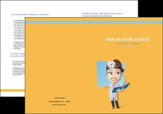 exemple depliant 2 volets  4 pages  materiel de sante medecin medecine sante MIS45293