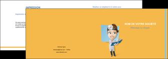 imprimerie depliant 2 volets  4 pages  materiel de sante medecin medecine sante MIS45317