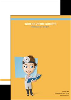 personnaliser maquette flyers materiel de sante medecin medecine sante MIS45335