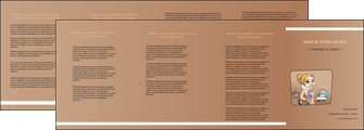 imprimerie depliant 4 volets  8 pages  menagere femme femme au foyer MLGI45371