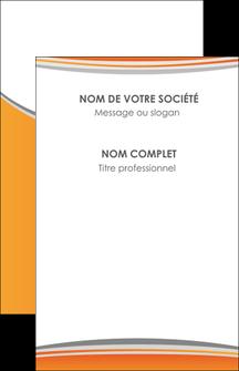 modele carte de visite standard design abstrait MLGI45555
