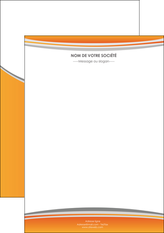 personnaliser modele de flyers standard design abstrait MLGI45559