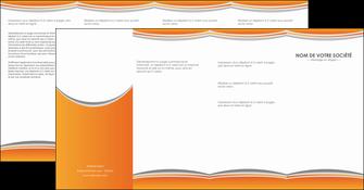 personnaliser maquette depliant 4 volets  8 pages  standard design abstrait MLGI45563
