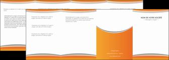 maquette en ligne a personnaliser depliant 4 volets  8 pages  standard design abstrait MLGI45565
