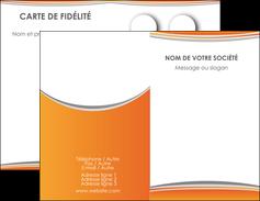 creer modele en ligne carte de visite standard design abstrait MLGI45585