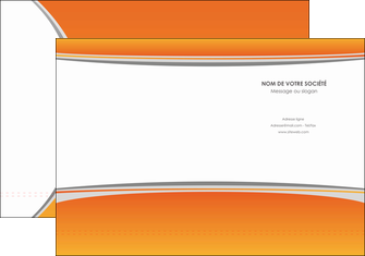 imprimer pochette a rabat standard design abstrait MLGI45589