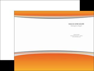 imprimerie pochette a rabat standard design abstrait MLGI45591