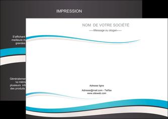 impression flyers standard design abstrait MLIG45705